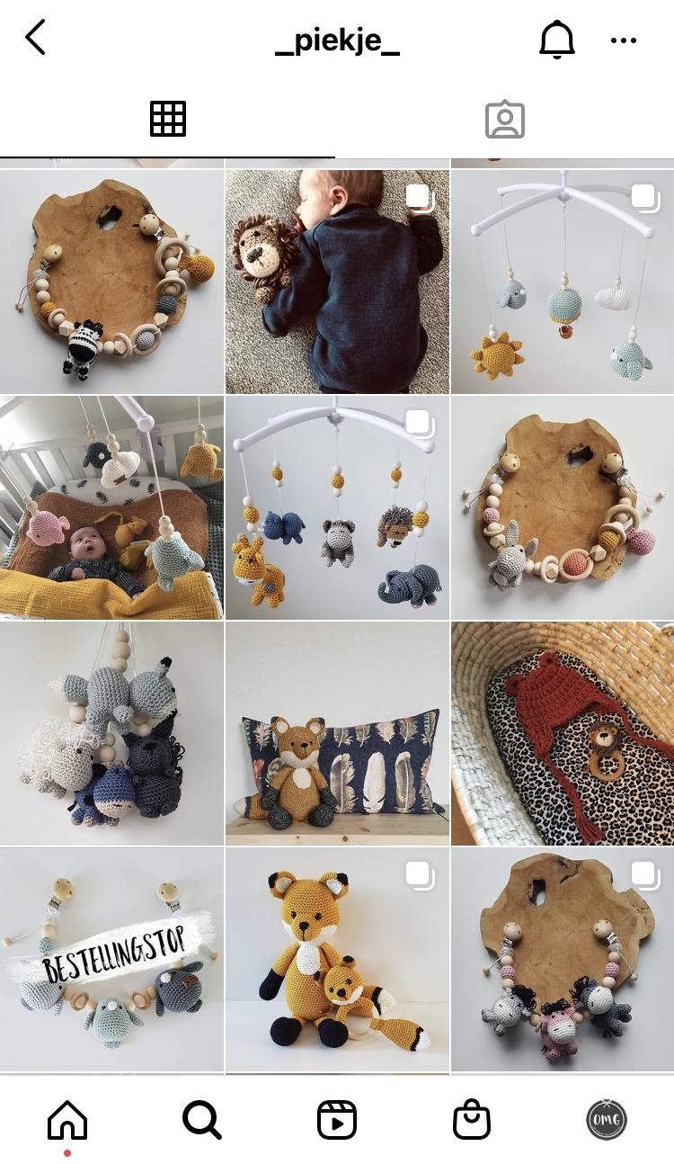 Instagram van Piekje