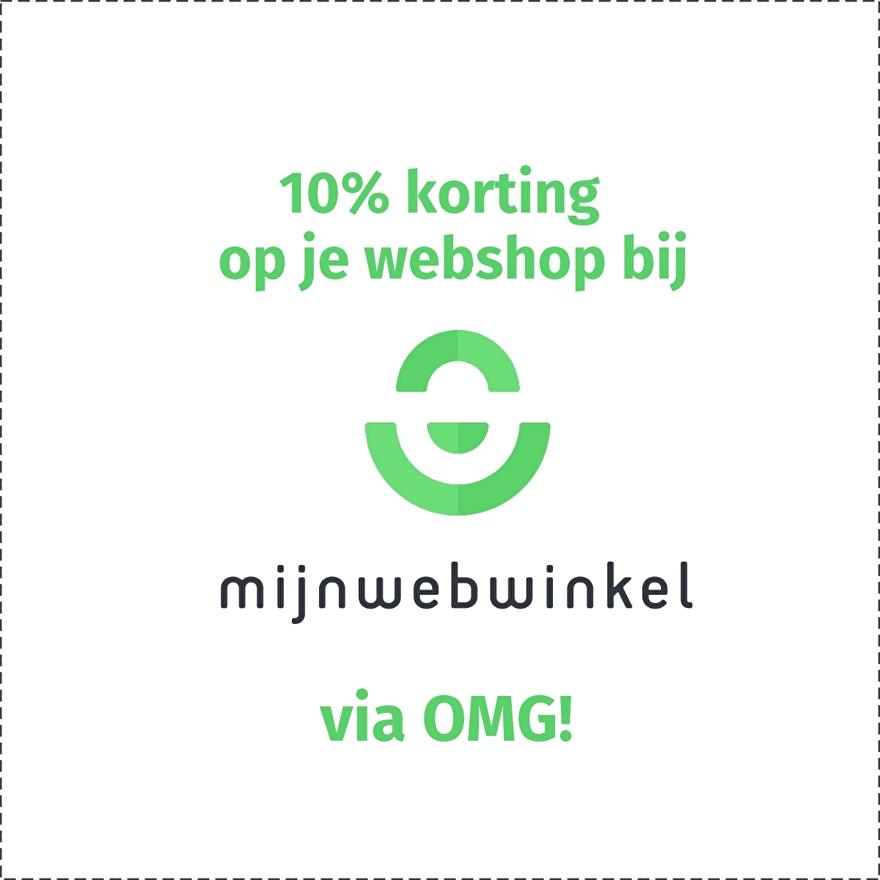 Korting mijnwebwinkel.nl via opmaatgehaakt.nl