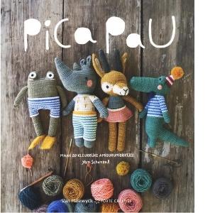 Pica Pau - Maak 20 kleurrijke amigurumidiertjes