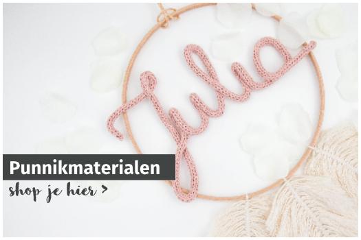 Punnikmaterialen bij opmaatgehaakt.nl