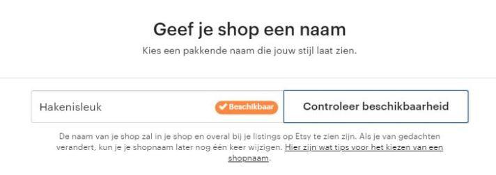 Hoe open je je eigen Etsy Shop