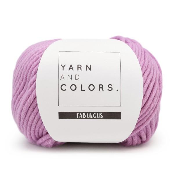 Yarn and Colors Fabulous 052 Orchid opmaatgehaakt.nl