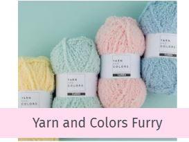 Yarn and Colors Furry bij opmaatgehaakt.nl