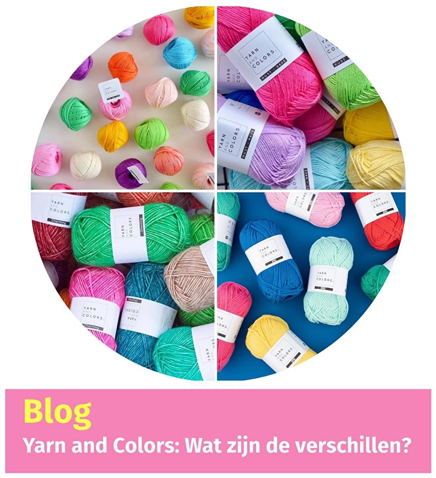 Yarn and Colors: Wat zijn de verschillen? Lees het in deze blog!