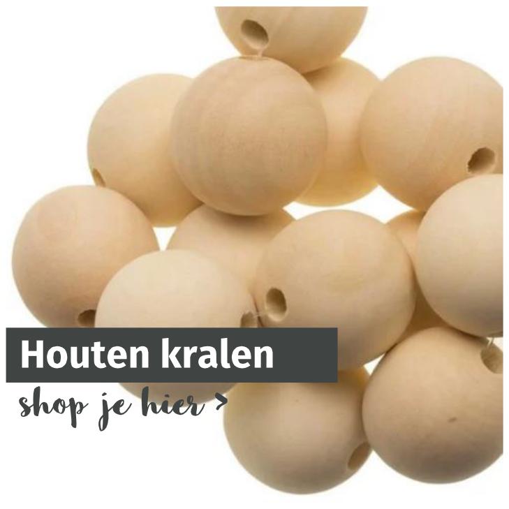 Houten kralen opmaatgehaakt.nl