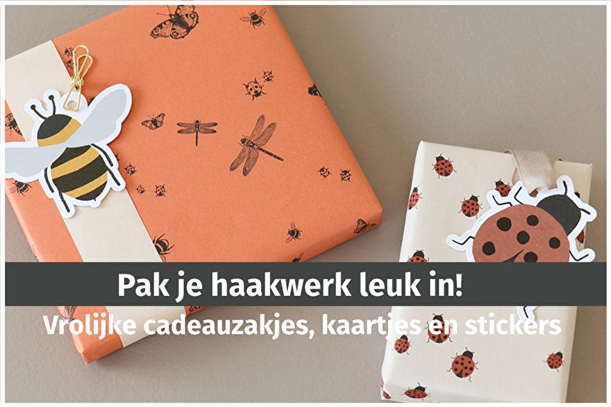 Inpakmaterialen en wenskaarten bij opmaatgehaakt.nl