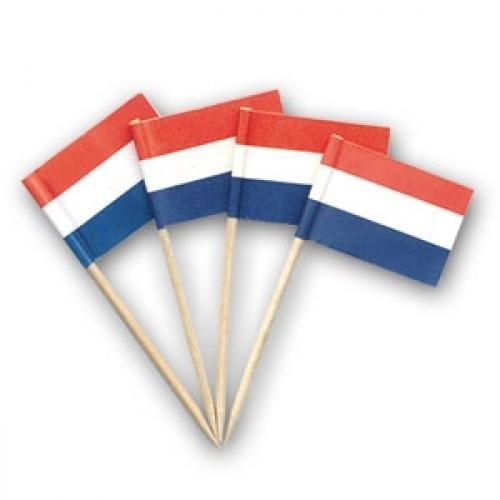Cocktailprikker Nederlandse vlag