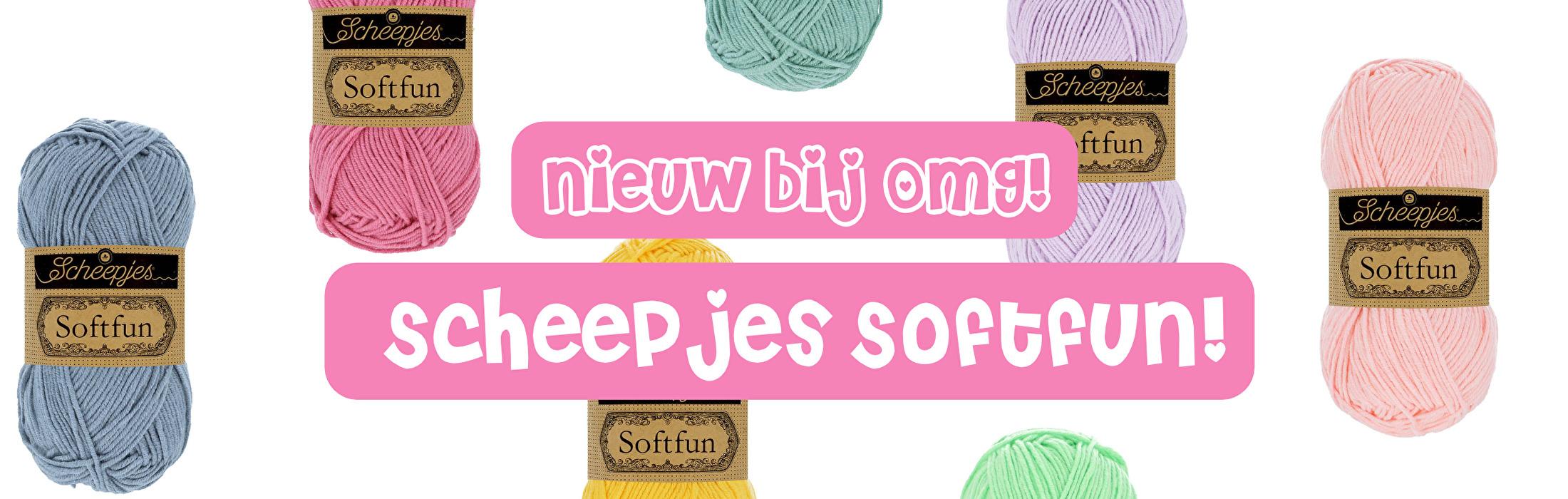 Nieuw bij OMG: Scheepjes Softfun!
