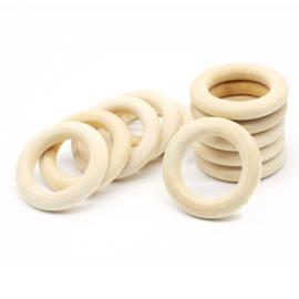 Houten ring 40mm