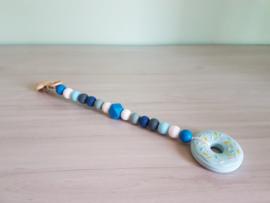 Speelkoord Cool Blue / Donut Babyblauw
