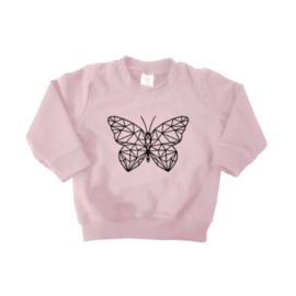 Sweater - Geometrische  Vlinder