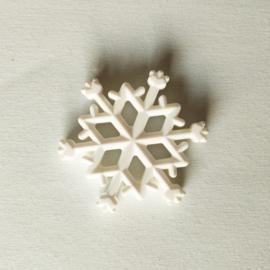 Siliconen Bijtfiguur Sneeuwvlok