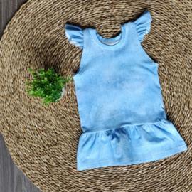 Summerdress/Tuniek Digi Jeans Lichtblauw