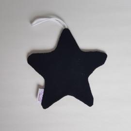 Speendoekje Ster Tricot Luipaard Bruin/Zwart/Oker/Katoenfleece Zwart