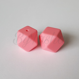 Hexagon 17mm - Bubblegum