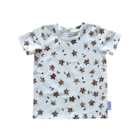 T-Shirt Brown Flower