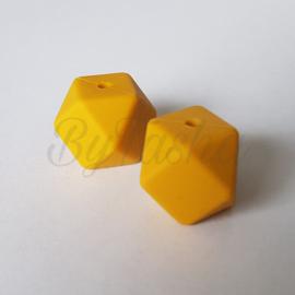 Hexagon 17mm - Okergeel