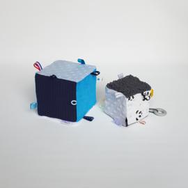 Kubus Blauw/Teddy