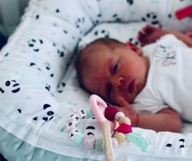 Bijtring Anne & Custom babynestje
