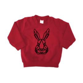 Sweater - Geometrisch  Konijn