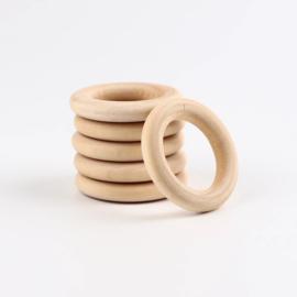Houten ring 56mm