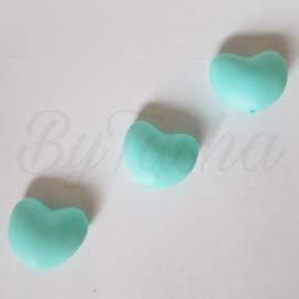 Hartje - Turquoise extra licht
