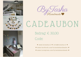 Cadeaubon - € 30,00