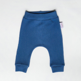 Harembroekje Rib Donker Jeans
