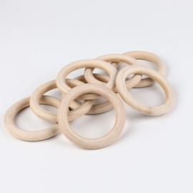 Houten ring 68mm