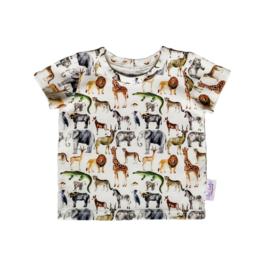 T-Shirt Jungle Dieren