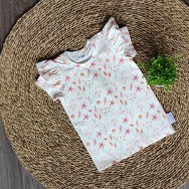 Ruffle T-Shirt Lieve Bloem