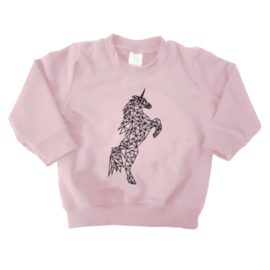 Sweater - Geometrische  Eenhoorn