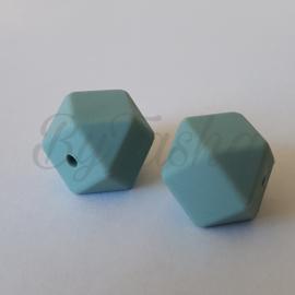 Hexagon 17mm - Grijsblauw