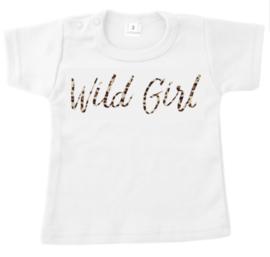 Shirt - Wild Girl Panterprint