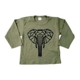 Shirt - Geometrische Olifant