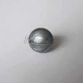 15mm -  Parelmoer Metaal (Donkergrijs)