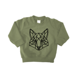 Sweater - Geometrische Vos