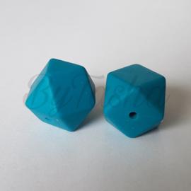 Hexagon 17mm - Zeeblauw