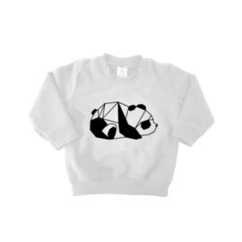 Sweater - Geometrische Panda