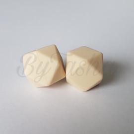 Hexagon 17mm - Crème