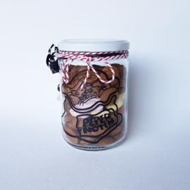 Glazen Pot Pepernoten