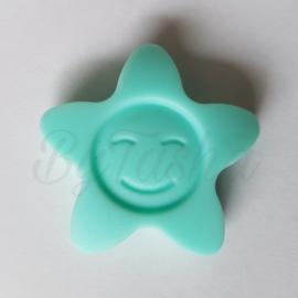 Ster Zonnebloem - Lichtblauw/Mint