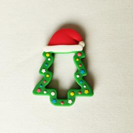 Siliconen Bijtfiguur Kerstboom 2
