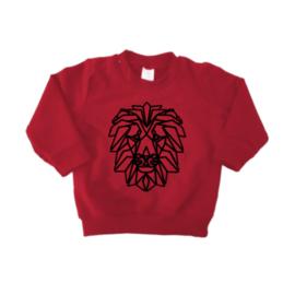 Sweater - Geometrische  Leeuw