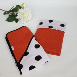 Wafel Terra/Roest & Grote Dots