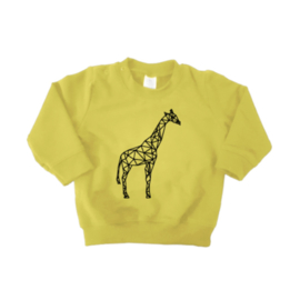 Sweater - Geometrische Giraf