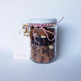 Glazen Pot Welkom Sint & Piet