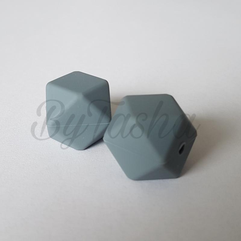 Hexagon 17mm - Grijs