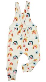 Suspender pants/tuinbroek - regenboog