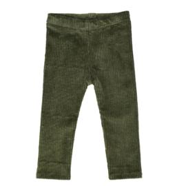 Legging | Cotton Rib | Khaki